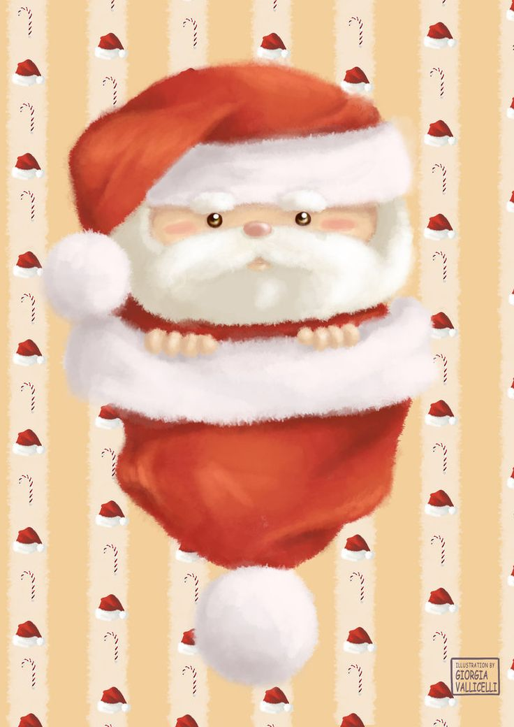 Christmas Time | Baby Santa Claus by FairyWorld84
