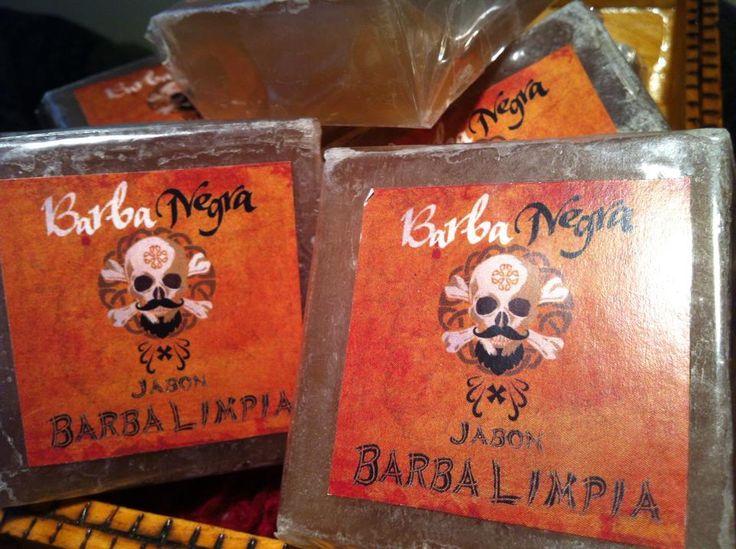 Jabones Barba Limpia, de extracto de Neem, para gozar de una barba libre de bacterias y malos olores!