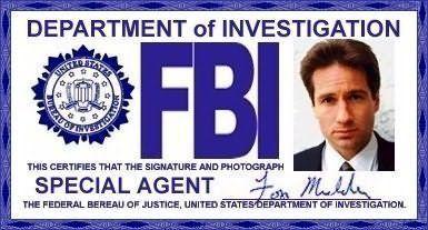 x files fbi badge | Mulders Badge & ID - The X-Files Photo (7943725) - Fanpop fanclubs
