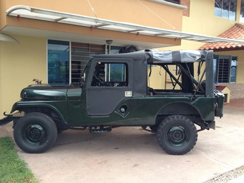 1964 CJ-6 Jeep . If I owned this, the LAST place it wound be is pared in the driveway! #JEEP