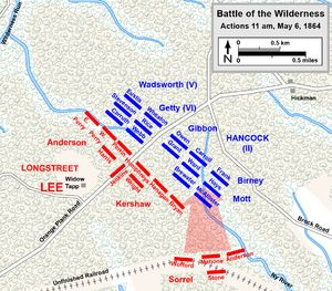 Battle of the Wilderness - Wikipedia, the free encyclopedia