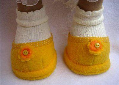 МК.Шьём туфли для игрушки. - Ярмарка Мастеров - ручная работа, handmade