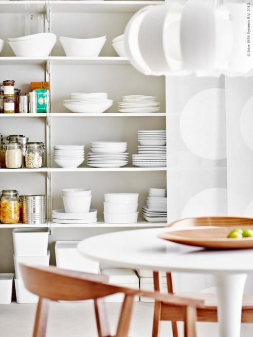 DOCKSTA matbord, STOCKHOLM stolar och taklampa Matplats Pinterest Shelves, Dishes and Love