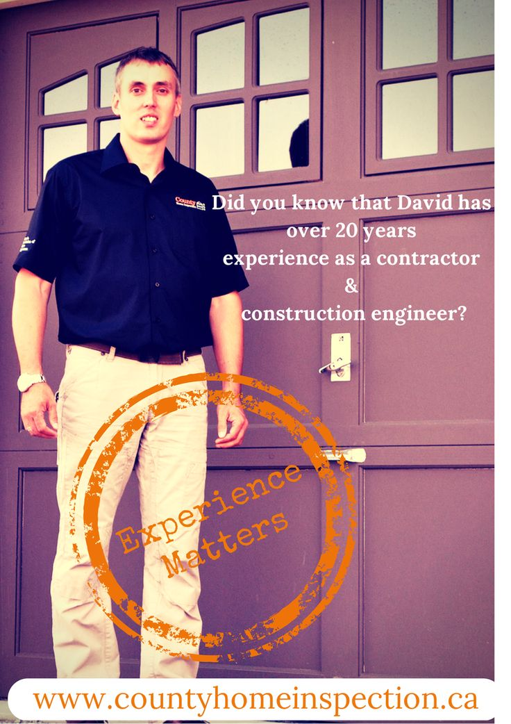 County Home Inspection Experience Matters! #homeinspection 705 957 3642