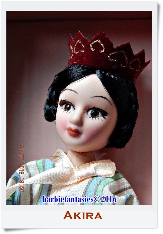 Original name: Porcelain doll DeAgostini. Dolls of the world. South Korea