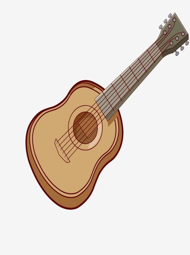 Guitar Vector Guitar Clipart Wooden Guitar Guitar Physical Png Transparent Image And Clipart For Free Download Guitar Guitar Clipart Guitar Vector