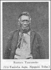 RUATANA TAURAMOKO Uri- Taniwha hapu, Ngapuhi Tribe