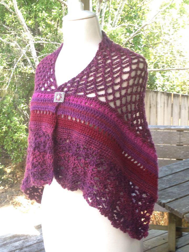 Prayers shawl for my friend Peta