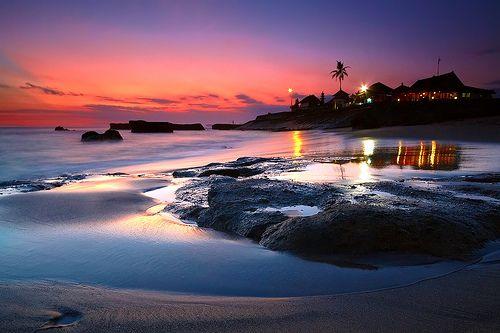 Sunset, Echo Beach, Bali