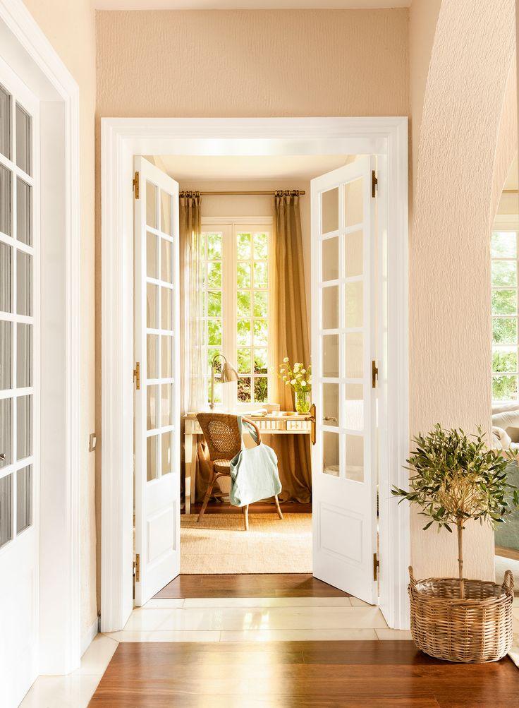 M s de 25 ideas fant sticas sobre cortinas de ventanas de for Puertas interior economicas