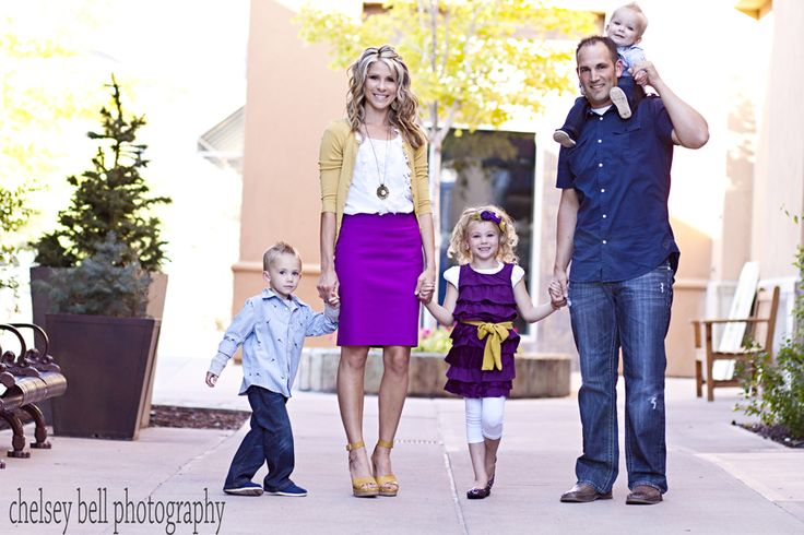 love the golds & purples This Family used the same colors in their picture as Destiny did...lovely