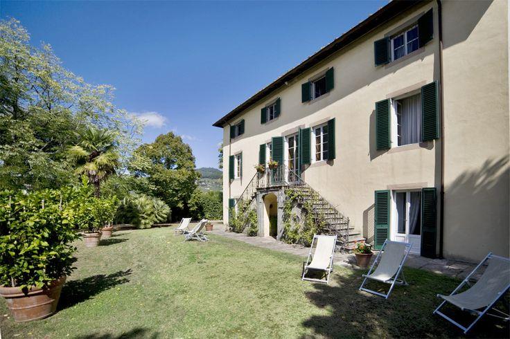 Villa Clara - S. Concordio di Moriano - Lucca http://www.salogivillas.com/en/villa/villa-clara-12-2D20