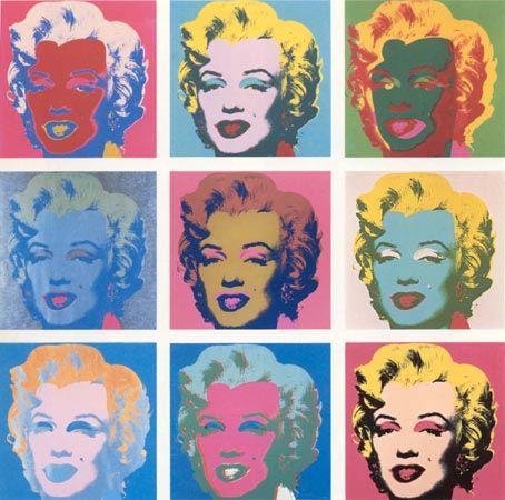 Assez Les 15 meilleures images du tableau Andy Warhol Portrait - Marilyn  RU16