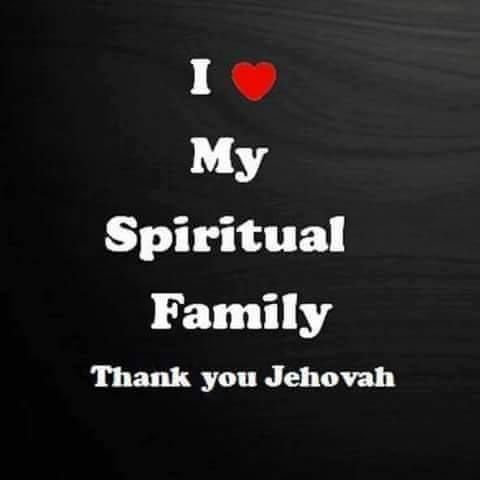 Your spiritual family display : love, joy, peace,long suffering, kindness , goodness, faith, mildness, & self control.