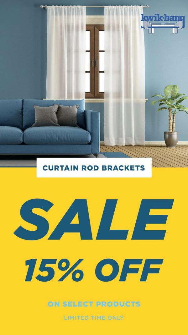 Our Curtain Rod Brackets Are Already As Easy As It Gets But These