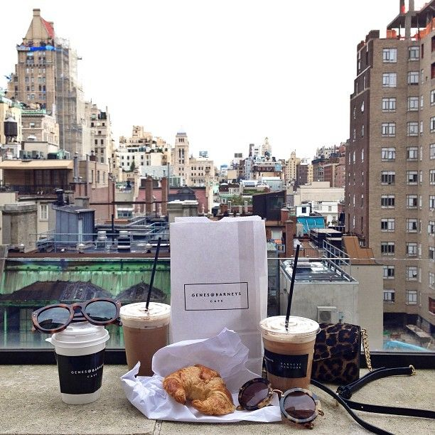 Nothing like a good rooftop in New York. Love Barney's!