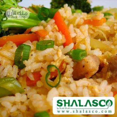 طريقة عمل الأرز الصينى من ملك الأرز , وصفات شهية - ملك الارز