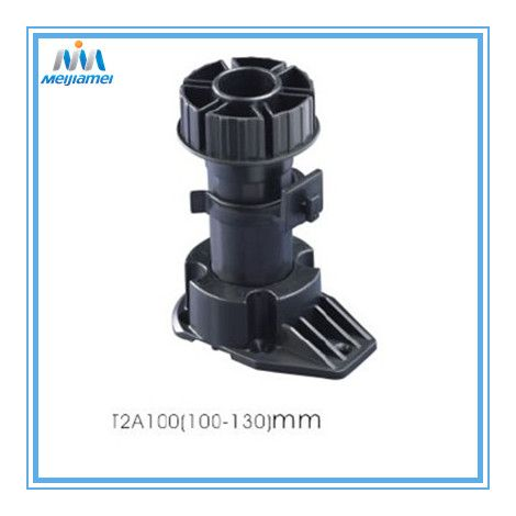 China Plastic adjustable cabinet legs in ABS Material Manufacturers