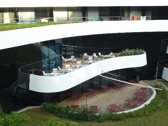 Hotel Lone, 3LHD Architects, Хорватия Красивая врезка.