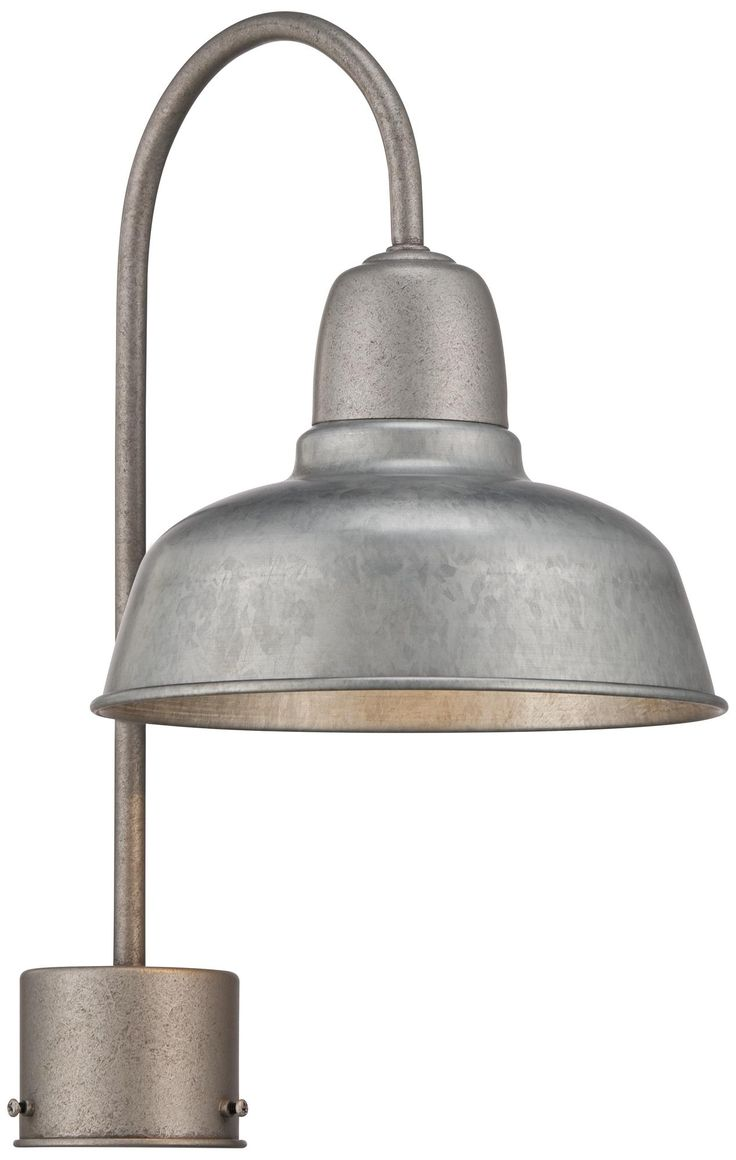 Urban Barn 8 1 2 Wide Galvanized Outdoor Post Light Posts Products A