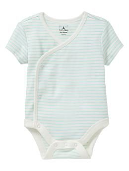 Kimono bodysuit      #578380  Color: cool aqua  $14.95    Size:  Up To 7lb0-3 M3-6 M6-12 M12-18 M18-24 M    select qty   cool aqua  $14.95   This item is not currently available in stores.find in store  ABOUT THIS PRODUCT  fabric & care  100% Cotton.  Machine wash.  Imported.  overview  Short sleeves.  Kimono-style flap front.  V-neckline.  Assorted prints.  Snaps at front Kimono flap and inseam for easy dressing and diapering.