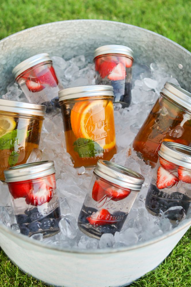 Du thé glacé à emporter pour son pique nique d'été ! #packaging #SummerPicnic #IceTea very good idea to try in the garden of #Chambiers!