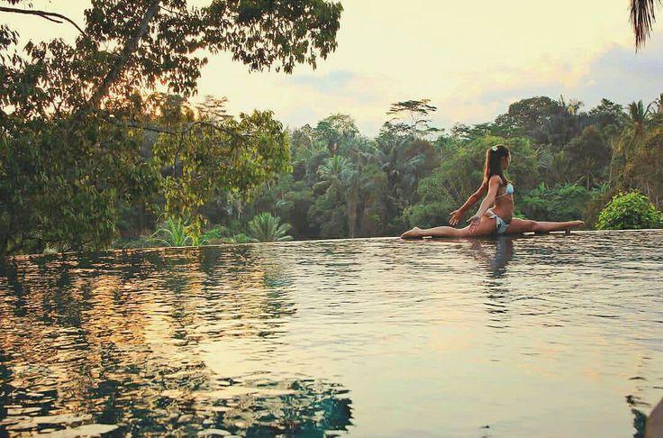 Never stop dreaming Never stop trying Never stop learning and be flexible  .. Yoga pose at our infinity pool by @giadacampanella  .. #infinitypool #yogainubud #yogainspiration #yoga #yogapose #retreatsresort #ubudresort #balihotels #Bali #Бали #バリ島 #巴厘岛 #발리섬 #Ubud #Убуд #ウブド #乌布 #우붓 #йога #ヨガ #瑜伽 #요가 #BaliSafe #visitbali #balisafeforholiday #balisafetovisit #puriganggaresort #ahomeinalivingculture
