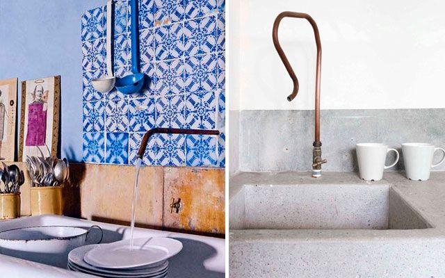 | Grifos de diseño para la decoración de la cocina