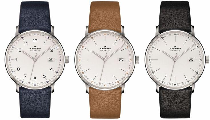 Junghans FORM A – nowy model, nowa linia zegarków (nowość 2017)!