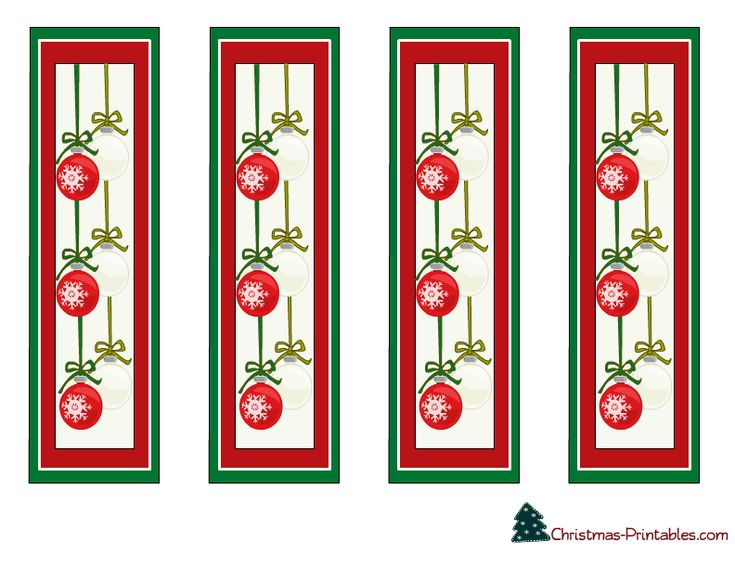 153 best Bookmarks images – Christmas Bookmark Templates
