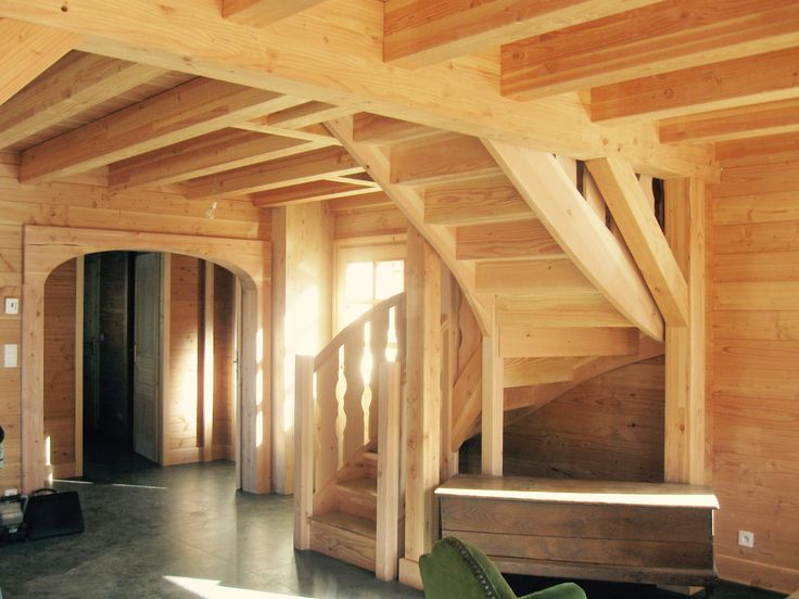 62 best Maison Chalet bois images on Pinterest Bomb shelter