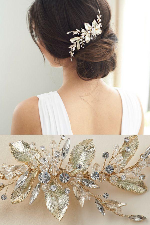 Liliana Bridal Hair Clip Pinterest Nature Inspired Bridal