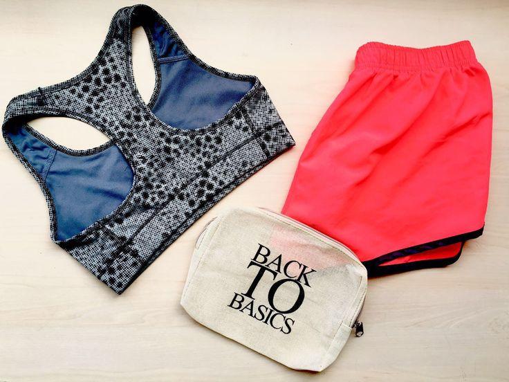 Gym Stuff & eco-bag.