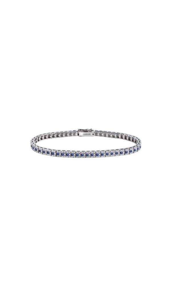 Belle Époque white gold, diamonds and sapphires bracelet