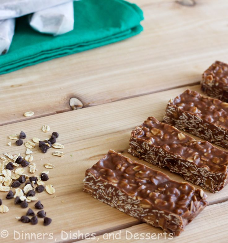 Granola Bars | Dinners, Dishes, and Desserts