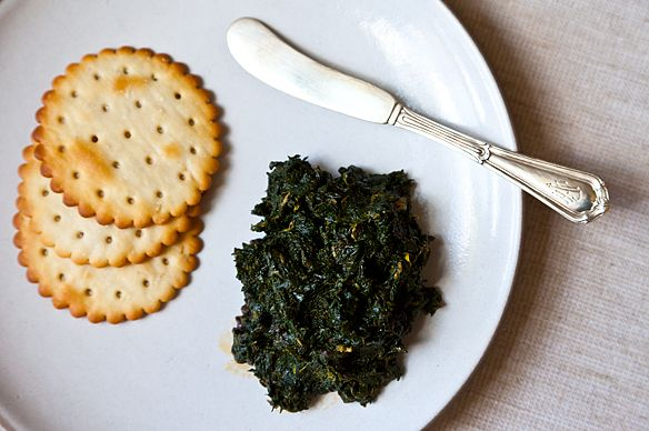 Paula Wolfert's Herb Jam with Olives and Lemon (not gelled and no ...