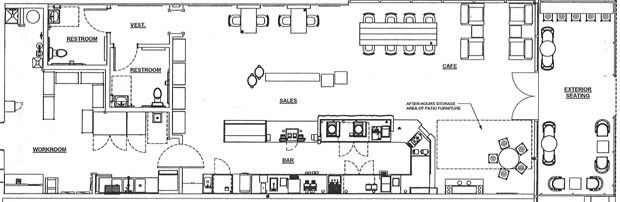 Typical Starbucks Floor Plan Google Search