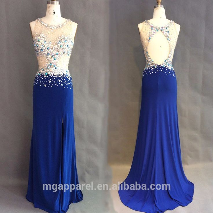 Real life photo hand beaded formal evening dress wholesale elegant chiffon evening dress 2015