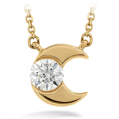 Charmed Half Moon Pendant. Enter to win: http://bit.ly/1dIgZPh #HOFLuckyCharms