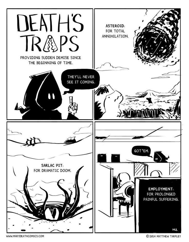 Mary Death :: Death's Traps | Tapastic Comics - image 1