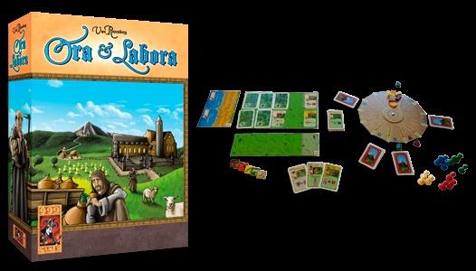 999 Games - Ora et Labora, echt iets voor mij