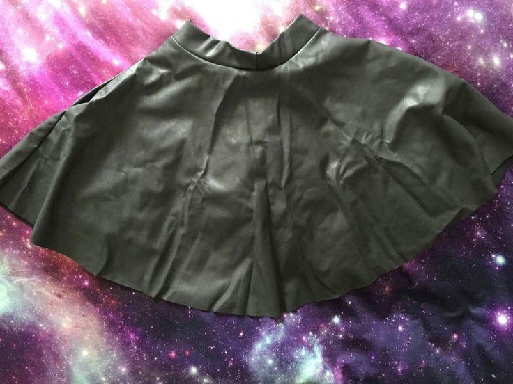 Route 66 grey pocket skater skirt (sample) > Black Milk Clothing xs