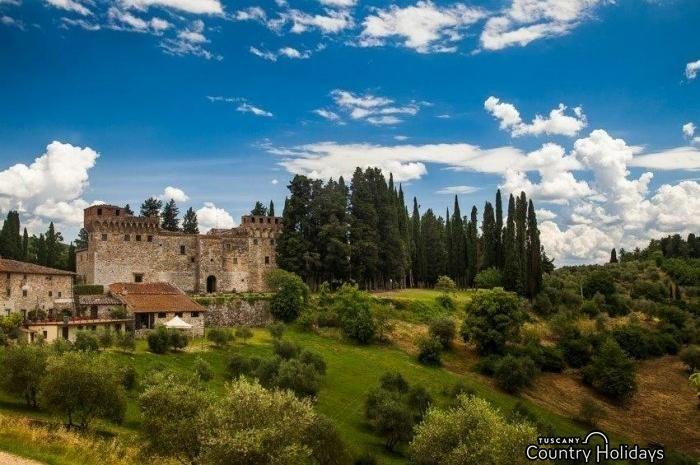 Castello del Trebbio at Pontassieve - Santa Brigida (Florence) - Tuscany Holidays