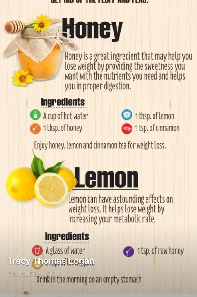 Honey-Lemon Teas