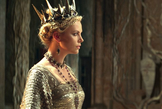 Charlize Theron in SNOW WHITE AND THE HUNTSMAN. See the film in theatres June 1, 2012.