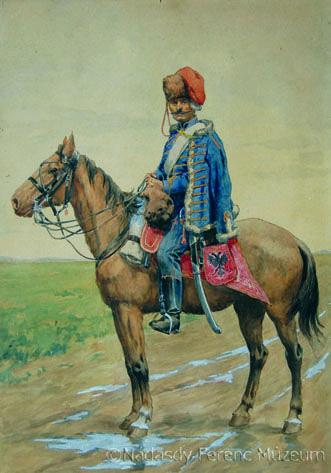 Ismeretlen festő: Nádasdy huszár