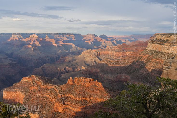 США. Лето в парках. Национальный парк Grand Canyon