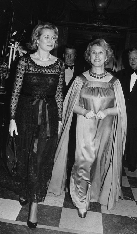 Princess Grace with Estée Lauder