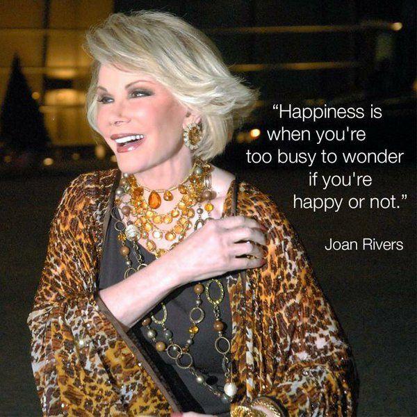 Joan Rivers #Joan_Rivers #Joan_Rivers_Quotes                                                                                                                                                                                 More