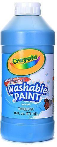 Crayola Washable Paint (Turquoise Blue)